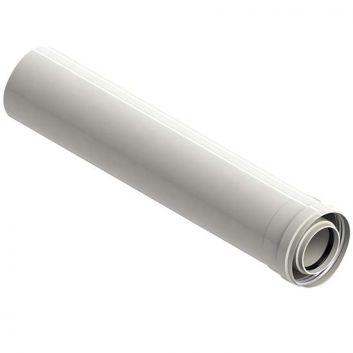PROLUNGA COASSIALE 1 METRO A CONDENSAZIONE 60/100 M/F A INNESTO