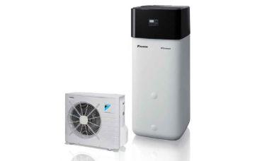 POMPA DI CALORE ARIA-ACQUA DAIKIN HPSU COMPACT ABBINABILE A SISTEMA SOLARE TERMICO SOLARIS 304 4H/C